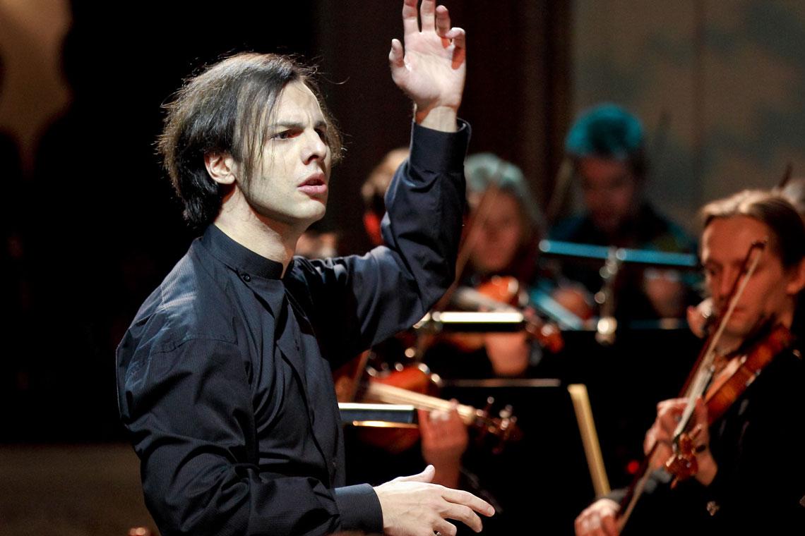 Teodor Currentzis y MusicAeterna Orquesta de la Ópera de Perm