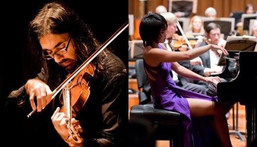 Virtuosismo de Leonidas Kavakos y Yuja Wang (B8)