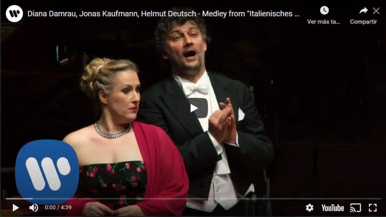 Diana Damrau y Jonas Kaufmann